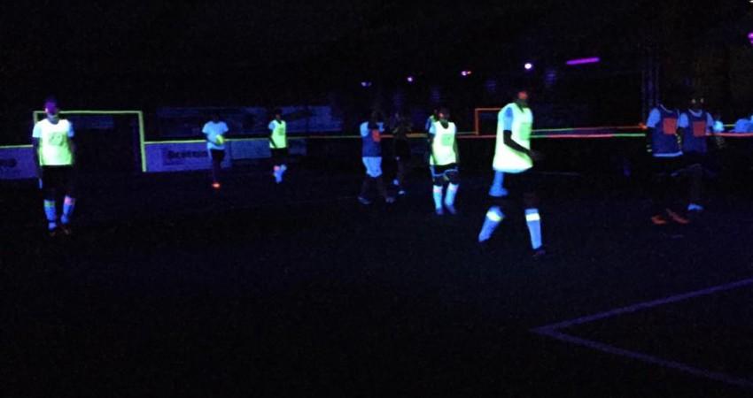 Erstes Bocholter Schwarzlicht-Fußballturnier ein voller Erfolg ...